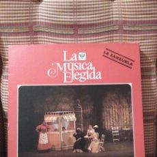 Discos de vinilo: ZARZUELA 4 DISCOS Y LIBRO 100 PAG HISPAVOX BERBENA PALOMA REVOLTOSA BANDA AGA LA BODA DE LUIS ALONSO. Lote 84988110