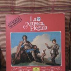 Discos de vinilo: MÚSICA CLÁSICA ESPAÑOLA DEUTSCHE GRAMMOPHON 4 DISCOS EN CAJA Y LIBRO TAPA DURA 100 PAGS.. Lote 84988826