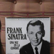 Discos de vinilo: FRANK SINATRA 3 DISCOS RECOPILACIÓN EMI/CAPITOL CON LIBRETO CON FOTOS TEXTO Y LETRAS DE LAS CANCIONE. Lote 84989596