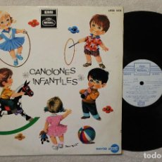 Discos de vinilo: CANCIONES INFANTILES LP VINILO MADE IN SPAIN 1968. Lote 84996464