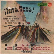 Discos de vinilo: LA TUNA DE LA FACULTAD DE VETERINARIA - AUPA TUNA - CARRASCOSA , LA TUNA..EP RCA DE 1962 RF-2305. Lote 85020036