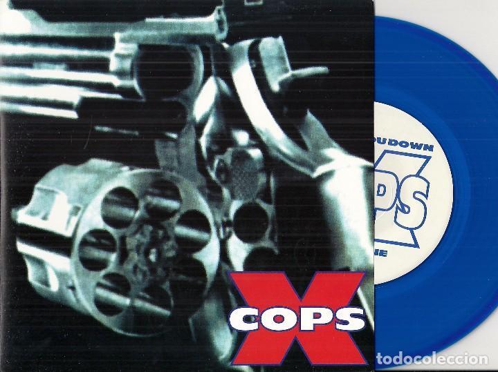 X COPS: BEAT YOU DOWN / JUNKIE (Música - Discos - Singles Vinilo - Punk - Hard Core)