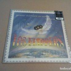 Discos de vinilo: LOS FLIPPERS - PRONTO VIVIREMOS UN MUNDO MUCHO MEJOR (LP 2008, GUERSSEN) NUEVO. Lote 206784523