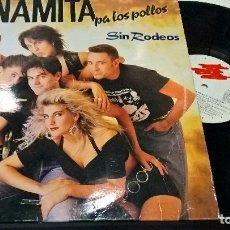 Discos de vinilo: MUSICA LP: DINAMITA PA LOS POLLOS - SIN RODEOS. Lote 85044828
