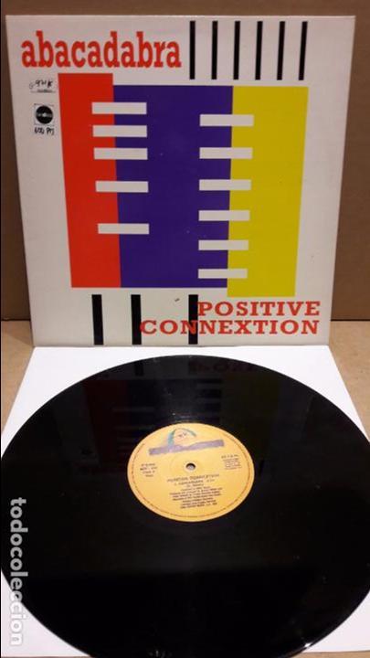 ABACADABRA. POSITIVE CONNEXTION. MAXI-SG / BOY RECORDS - 1994 / MBC. ***/*** (Música - Discos de Vinilo - Maxi Singles - Techno, Trance y House)