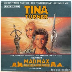 Discos de vinilo: TINA TURNER – WE DON'T NEED ANOTHER HERO (THUNDERDOME). Lote 85068688