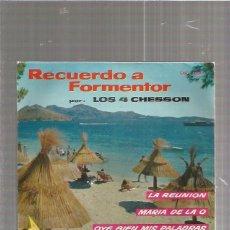 Discos de vinilo: 4 CHESSON RECUERDO. Lote 85069812