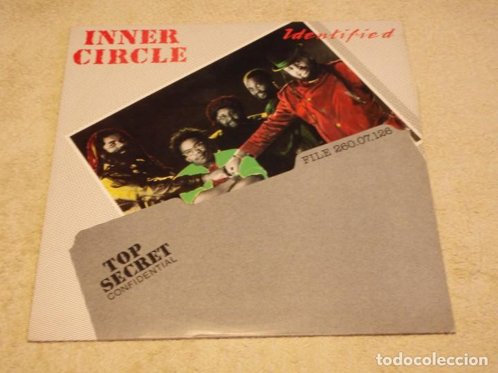 Discos de vinilo: INNER CIRCLE ( IDENTIFIED ) FLORIDA-USA 1989 LP33 VISION RECORDS - Foto 1 - 85072132