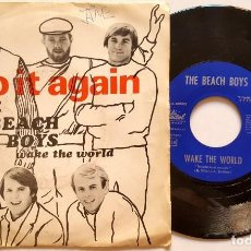 Discos de vinilo: ? THE BEACH BOYS DO IT AGAIN ?(SPAIN 1968)? VINILO 45 RPM ?. Lote 85073568