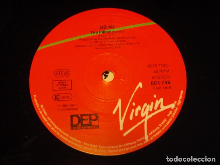 Discos de vinilo: UB40 ( IM NOT FOOLED - THE PILLOW ) 1984-GERMANY MAXI45 VIRGIN - Foto 3 - 85074128