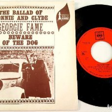 Discos de vinilo: ?? GEORGE FAME ? BEWARE OF THE DOG ?(SPAIN 1967)? VINILO 45 RPM ?. Lote 85075112