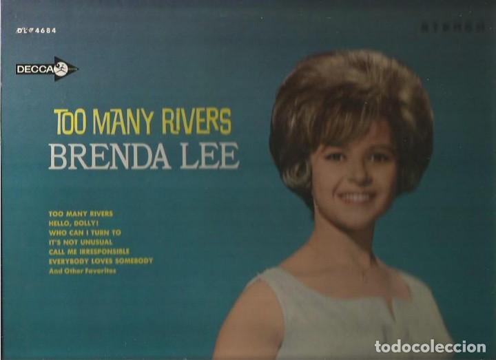 BRENDA LEE LP SELLO DECCA EDITADO EN USA. (Música - Discos - LP Vinilo - Pop - Rock Extranjero de los 50 y 60)