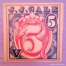 Discos de vinilo: J.J CALE 5. Lote 85107188