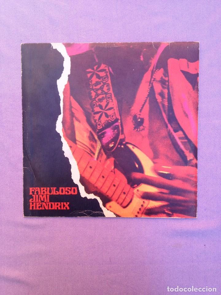 JIMMY HENDRIX :EL FABULOSO (SPAIN) 2 LP'S (Música - Discos - LP Vinilo - Pop - Rock - Extranjero de los 70)