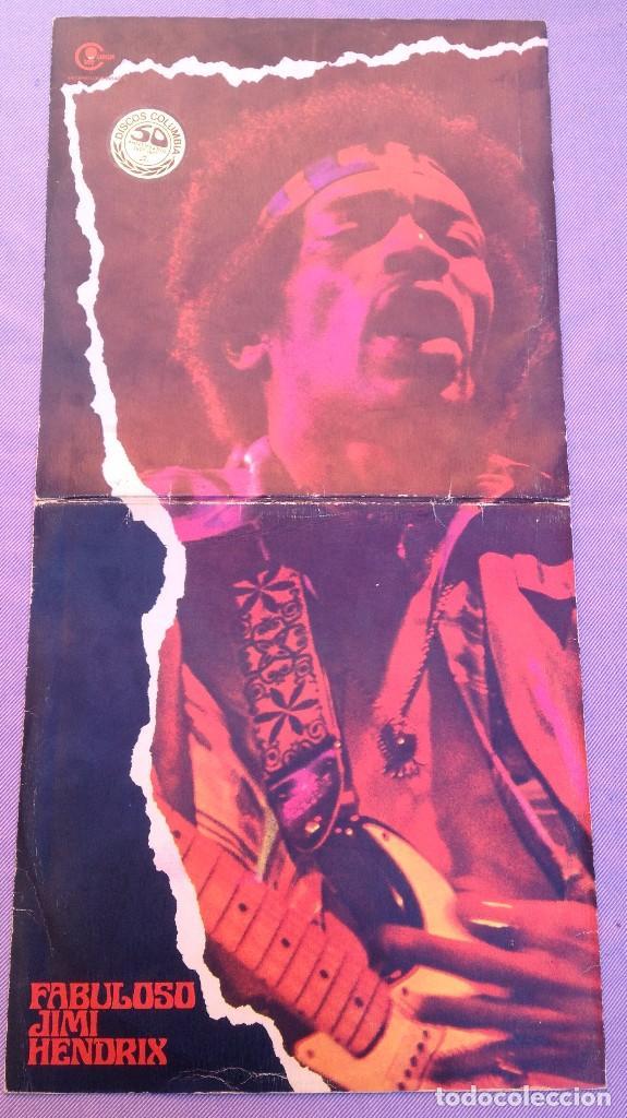 Discos de vinilo: JIMMY HENDRIX :EL FABULOSO (SPAIN) 2 LP'S - Foto 2 - 85107700