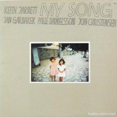 Discos de vinilo: KEITH JARRETT, JAN GARBAREK, PALLE DANIELSSON, JON CHRISTENSEN - MY SONG (LP, VINILO ECM 1979). Lote 85112276