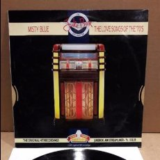 Discos de vinilo: JUKE BOX COLLECTION. MISTY BLUE. THE LOVE SONGS OF THE 70'S. LP / OLD GOLD / MBC. ***/***. Lote 85114428