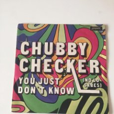 Discos de vinilo: CHUBBY CHECKER ?– YOU JUST DON'T KNOW 1978. SINGLE. Lote 85114856