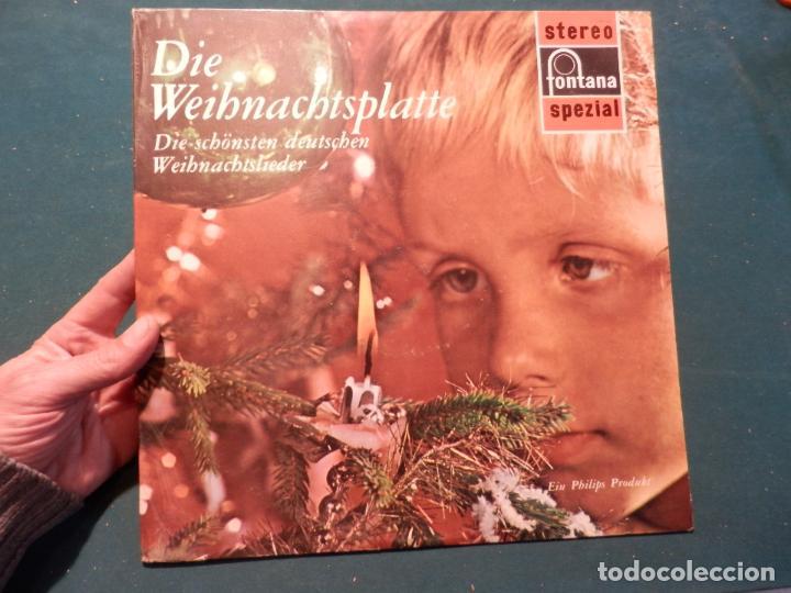 Die Schönsten Deutsche Weihnachtslieder.Die Weihnachtsplatte Die Schönsten Deutschen Weihnachtslieder Lp Fontana Navidad