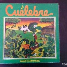 Discos de vinilo: LP CUELEBRE MADE IN ASTURIES ASTURIAS ROCK FOLK PROGRESIVO. Lote 85121156