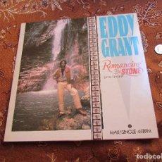 Discos de vinilo: EDDY GRANT- MAXI-SINGLE DE VINILO- TITULO ROMANCING THE STONE- CON 2 TEMAS-ORIGINAL 84- NUEVO. Lote 85121264