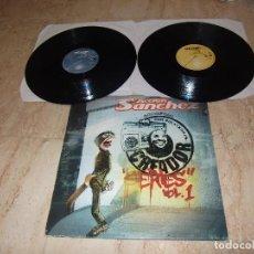 Discos de vinilo: ACCION SANCHEZ -CREADOR SERIES-VOL 1 DOBLE LP- - HIP HOP SEVILLA-2004. Lote 85129900