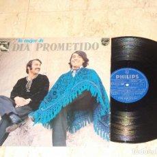Discos de vinilo: DIA PROMETIDO - LP - LO MEJOR - EASTERN EASY GROOVY PSYCH-POKORA - PHILIPS 1975 - RARO. Lote 85133532