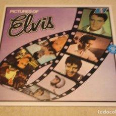 Discos de vinilo: ELVIS PRESLEY - PICTURES OF ELVIS, UK 1975 LP RCA. Lote 85134804