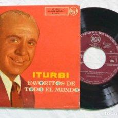 Discos de vinilo: DISCO ITURBI FAVORITOS DE TODO EL MUNDO. RCA. Lote 85135952