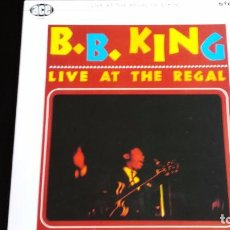 Discos de vinilo: LP BB KING: LIVE AT THE REGAL. Lote 85142068