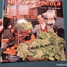 Discos de vinilo: MARCEL AZZOLA ET SON ENSEMBLE - SALADE DE SUCCÈS - VINILO 10 PULGADAS - FESTIVAL, DISQUES DE FRANCE. Lote 85143544