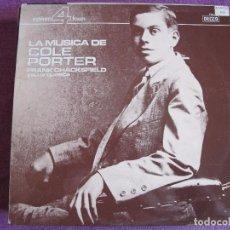 Discos de vinilo: LP - FRANK CHACKSFIELD - LA MUSICA DE COLE PORTER (SPAIN, DECCA RECORDS 1973). Lote 85148936