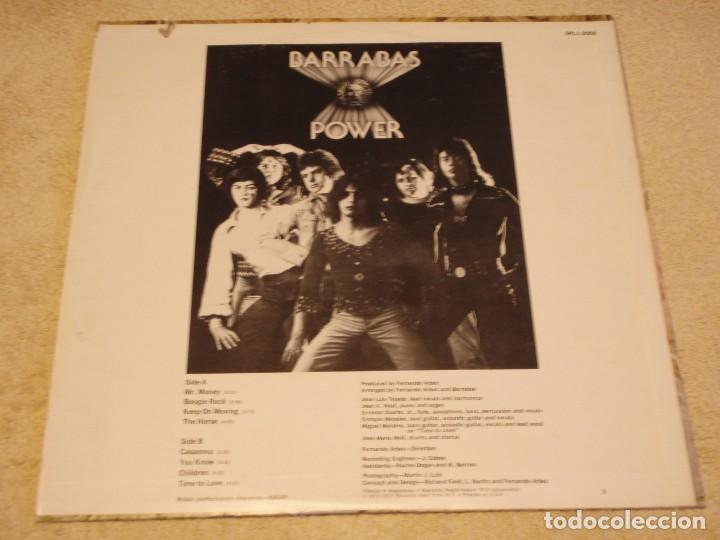 Discos de vinilo: BARRABAS ( POWER ) USA - 1973 LP33 RCA RECORDS - Foto 2 - 85148940