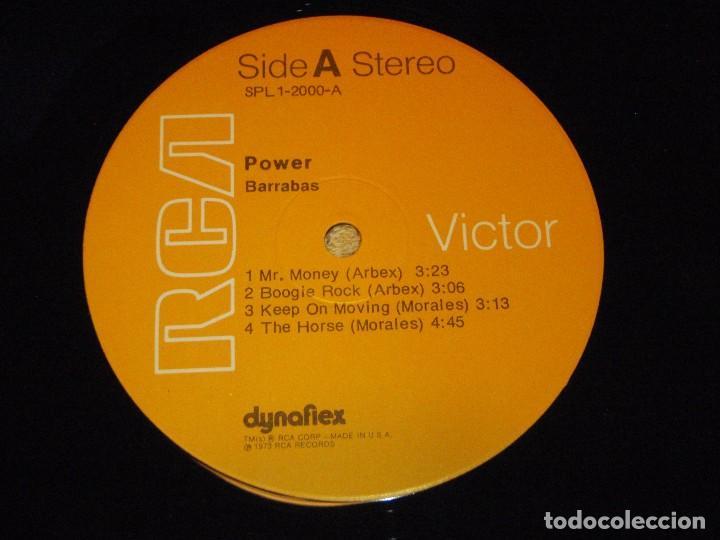 Discos de vinilo: BARRABAS ( POWER ) USA - 1973 LP33 RCA RECORDS - Foto 5 - 85148940