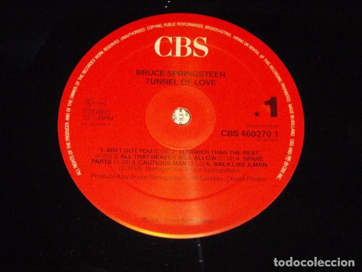 Discos de vinilo: BRUCE SPRINGSTEEN ( TUNNEL OF LOVE ) 1987 - HOLANDA LP33 CBS - Foto 7 - 85150308