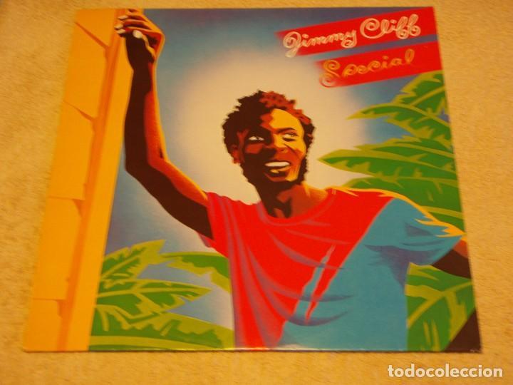 JIMMY CLIFF ( SPECIAL ) 1982 - HOLANDA LP33 CBS (Música - Discos - LP Vinilo - Reggae - Ska)