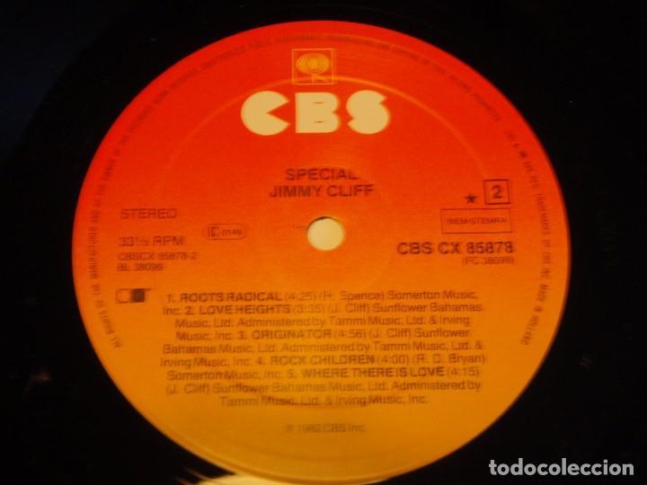 Discos de vinilo: JIMMY CLIFF ( SPECIAL ) 1982 - HOLANDA LP33 CBS - Foto 5 - 85152080