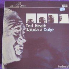Discos de vinilo: LP - TED HEATH - SALUDA A DUKE (PROMOCIONAL ESPAÑOL, DECCA RECORDS 1976). Lote 85152524