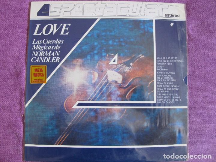 LP - NORMAN CANDLER - LOVE (SPAIN, TELEFUNKEN 1982) (Música - Discos - LP Vinilo - Orquestas)