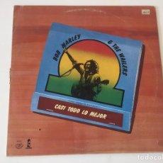 Discos de vinilo: BOB MARLEY & THE WAILERS. CASI TODO LO MEJOR. PROMOCIONAL!! MUY RARO 1978. Lote 85157568