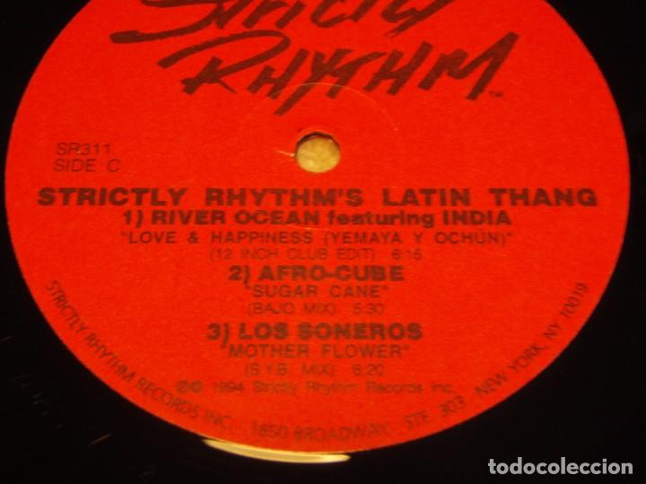 Discos de vinilo: STRICTLY RHYTHM LATIN THANG ( ANOTHER CLASSIC DANCE TRACKS COMPILATION ) DOBLE LP33 USA-1994 - Foto 3 - 85159536