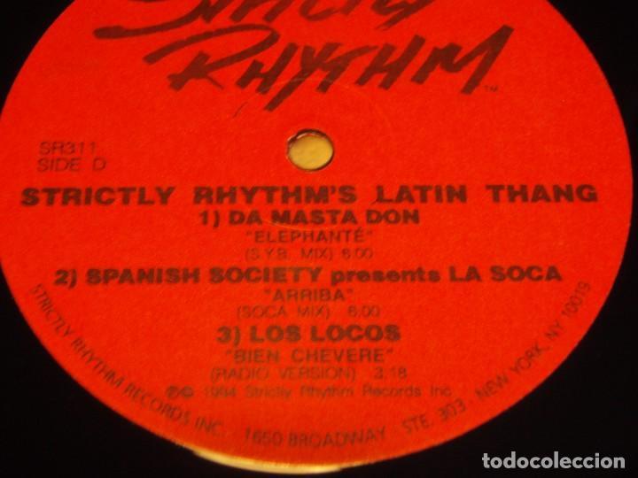 Discos de vinilo: STRICTLY RHYTHM LATIN THANG ( ANOTHER CLASSIC DANCE TRACKS COMPILATION ) DOBLE LP33 USA-1994 - Foto 4 - 85159536