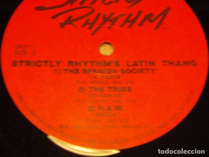 Discos de vinilo: STRICTLY RHYTHM LATIN THANG ( ANOTHER CLASSIC DANCE TRACKS COMPILATION ) DOBLE LP33 USA-1994 - Foto 5 - 85159536