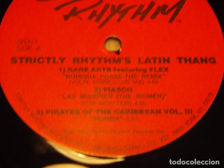 Discos de vinilo: STRICTLY RHYTHM LATIN THANG ( ANOTHER CLASSIC DANCE TRACKS COMPILATION ) DOBLE LP33 USA-1994 - Foto 6 - 85159536
