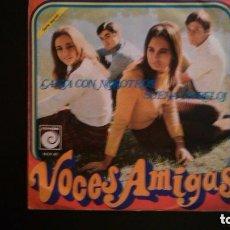 Discos de vinilo: VOCES AMIGAS - CANTA CON NOSOTROS - SUENA UN RELOJ. Lote 85167404