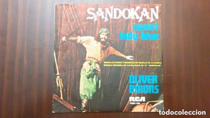 SANDOKAN .- SWEET LADY BLUE (Música - Discos - Singles Vinilo - Bandas Sonoras y Actores)