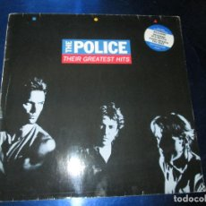 Discos de vinilo: LP-THE POLICE-THEIR GREATEST HITS-UK-A & M RECORDS-1990-VER FOTOS. Lote 85173248