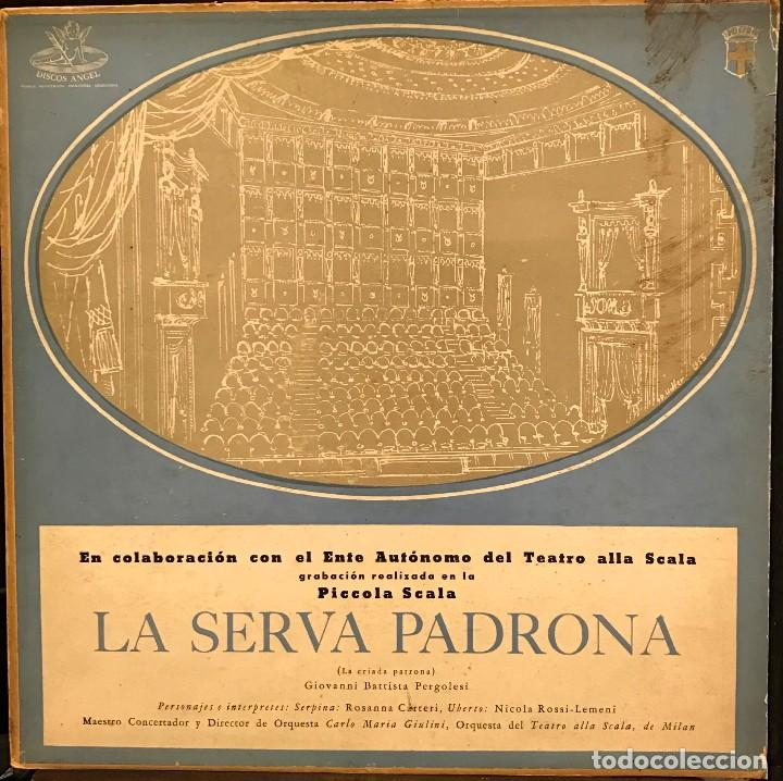 LP ARGENTINO DE ORQUESTA DEL TEATRO ALLA SCALA AÑO 1956 (Música - Discos - LP Vinilo - Clásica, Ópera, Zarzuela y Marchas)