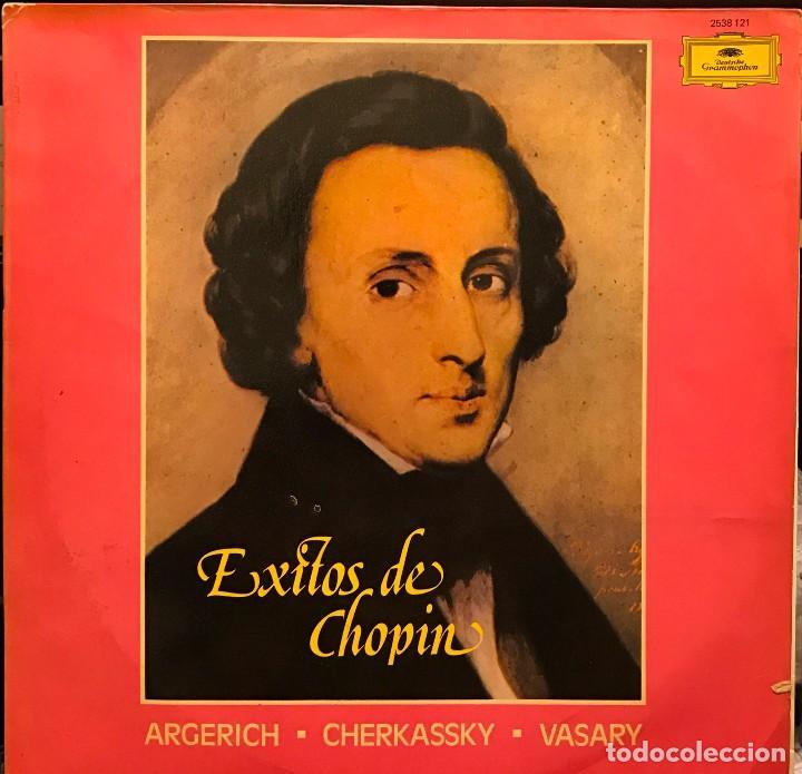 LP ARGENTINO DE ARTISTAS VARIOS ÉXITOS DE CHOPIN AÑO 1977 (Música - Discos - LP Vinilo - Clásica, Ópera, Zarzuela y Marchas)