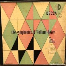 Discos de vinilo: LP DOBLE ESTADOUNIDENSE DE THE ZIMBLER SINFONIETTA AÑO 1950 . Lote 85177660